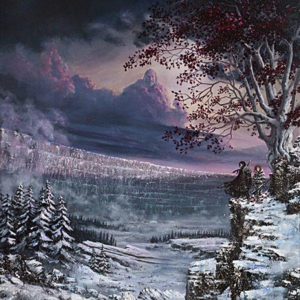 Beyond the Wall (au-delà du Mur) par Nordheimer, acrylique sur canvas (crédit Nordheimer)