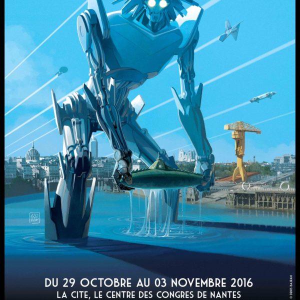 Affiche des Utopiales 2016 de Nantes