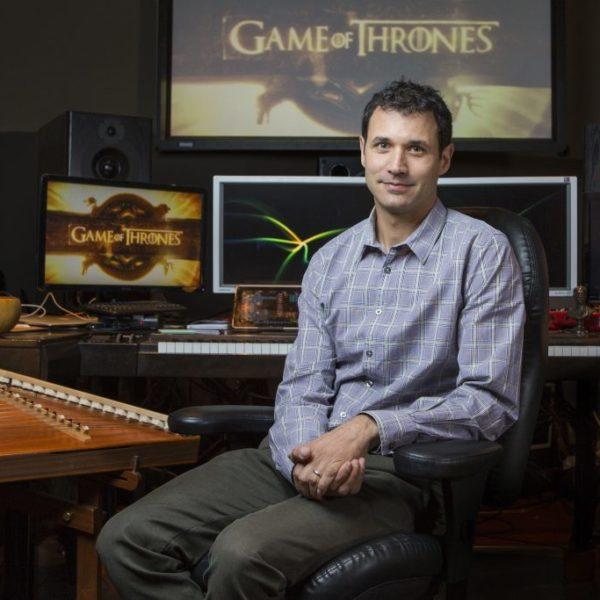 Ramin Djawadi pour les musiques de Game of Thrones (crédit HBO)