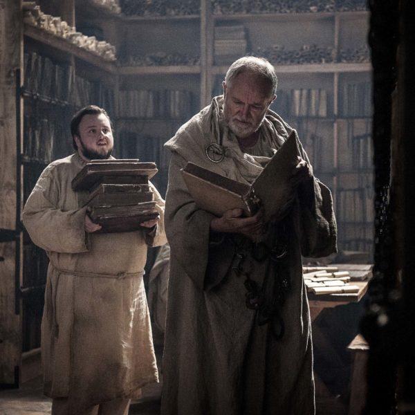 Samwell à la Citadelle des mestres à Villevieille - Game of Thrones, saison 7, épisode 2 (crédit HBO)