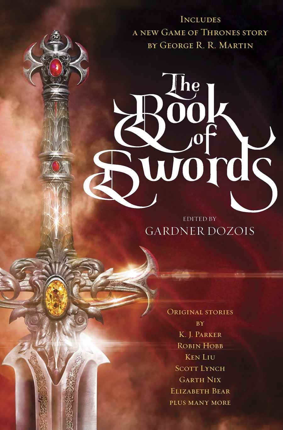 Anthologie the Book of Swords (crédit : Bantam et Gardner Dozois)