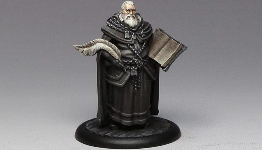 Figurine du Haut Sénéchal (Crédit : CMON et Dark Sword Miniatures)