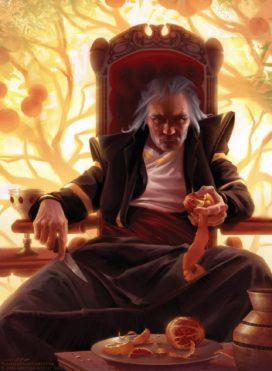 Doran Martell, illustration de carte pour Fantasy Flight Games par Tommy Arnold (Copyright: FFG)