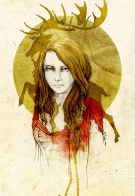 Myrcella Baratheon, par Elia Mervi