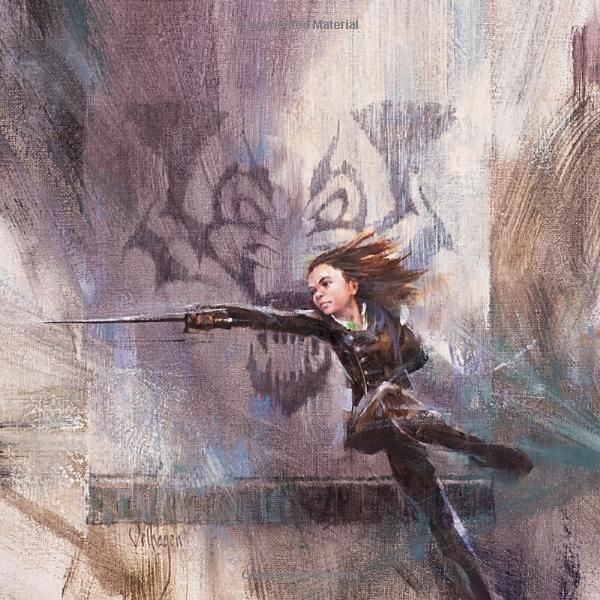 Arya danseuse d'eau (par Eric Velhagen - calendrier ASOIAF 2018)