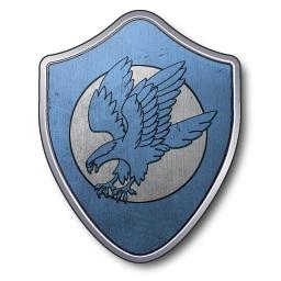 Blason de la maison Arryn (Crédits : La Garde de Nuit)
