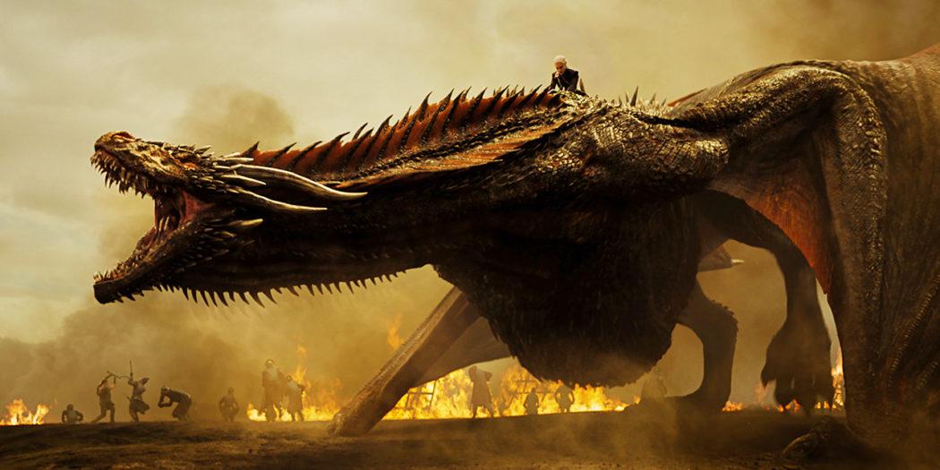 Daenerys sur le dos de Drogon, épisode 4 S7. Crédit HBO