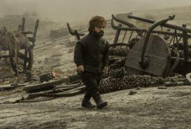 Tyrion Lannister, sans doute sur le champ de bataille de l'épisode 4 Saison 7 Peter Dinklage (Crédit : Macall B. Polay/HBO)