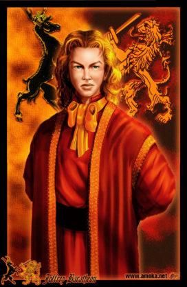 "Joffrey Baratheon (Crédits : <a href=""http://www.amokanet.ru/"">Amok</a>, avec son autorisation)"