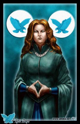 "Lysa Arryn (Crédits : <a href=""http://www.amokanet.ru/"">Amok</a>, avec son autorisation)"