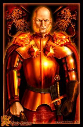 "Tywin Lannister (Crédits : <a href=""http://www.amokanet.ru/"">Amok</a>, avec son autorisation)"