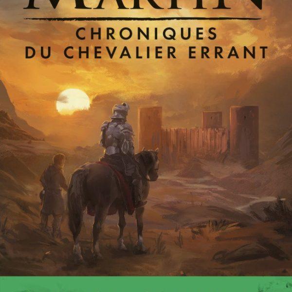 Couverture de la version Poche des chroniques du chevalier errant. (Crédit : éditions J'aiLu)