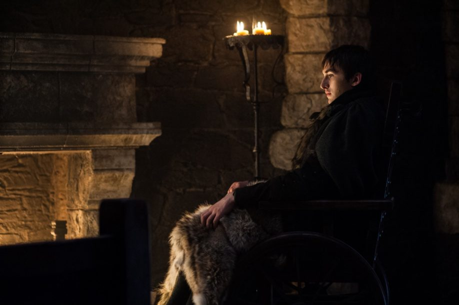 Bran Stark, alias la nouvelle Corneille à trois yeux. Isaac Hempstead Wright (Crédit : Helen Sloan/HBO)