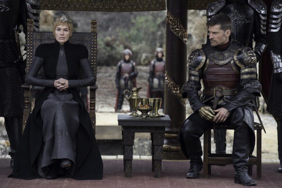 Les jumeaux Lannister, Cersei et Jaime. Lena Headey, Nikolaj-Coster Waldau (Crédit : Macall B. Polay/HBO).