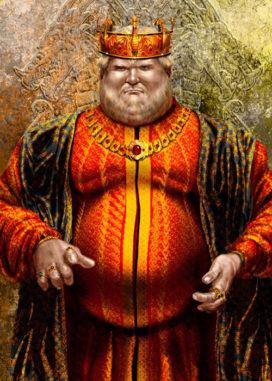 Aegon IV Targaryen (crédits Amok)
