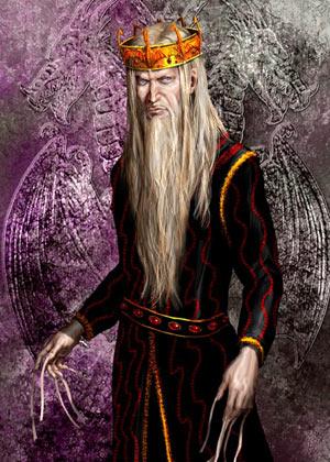 Aerys II Targaryen le fol (crédits Amok)