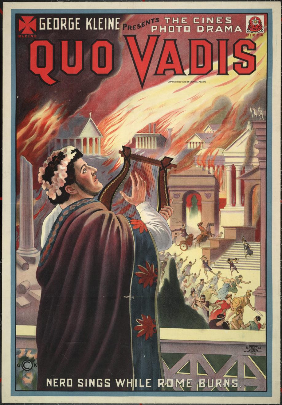 """Affiche du film """"Quo Vadis"""" (1951) (crédits : Wikimedia Commons)"""