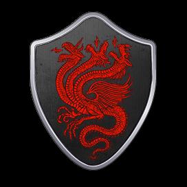 Blason Targaryen (Evrach, La Garde de Nuit, CC BY-SA 3.0)