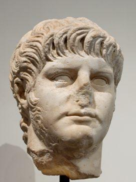 Buste de l'empereur Néron (marbre, Ier siècle ap. J.-C.)