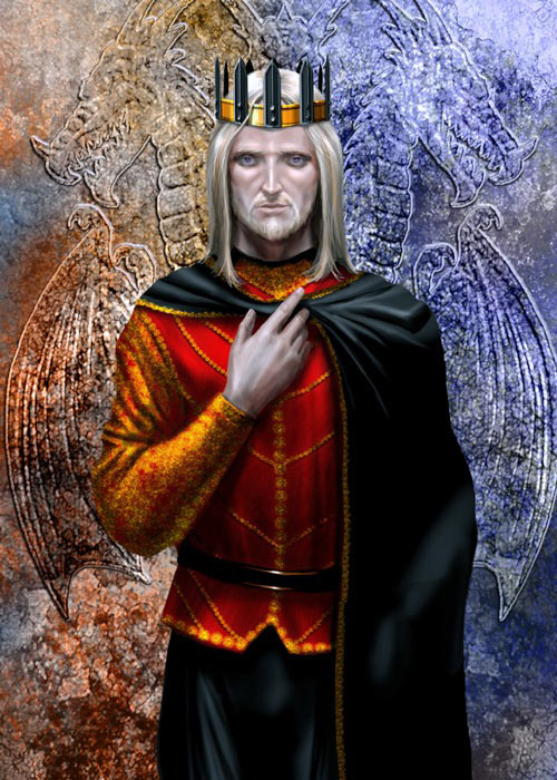 Jaehaerys II Targaryen (crédits Amok)