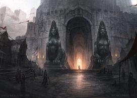 Les Sphinx, gardiens de la Citadelle (crédits : Juan Carlos Barquet, Fantasy Flight Games)