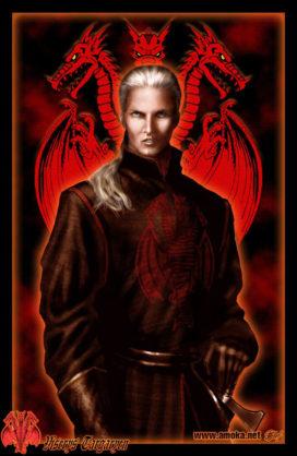 Viserys Targaryen (crédits Amok, avec son aimable autorisation).