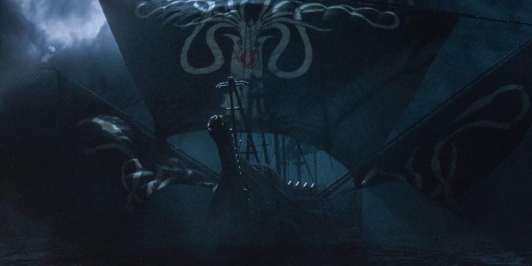 Le navire amiral de Euron Greyjoy le Silence. (Crédit : HBO)
