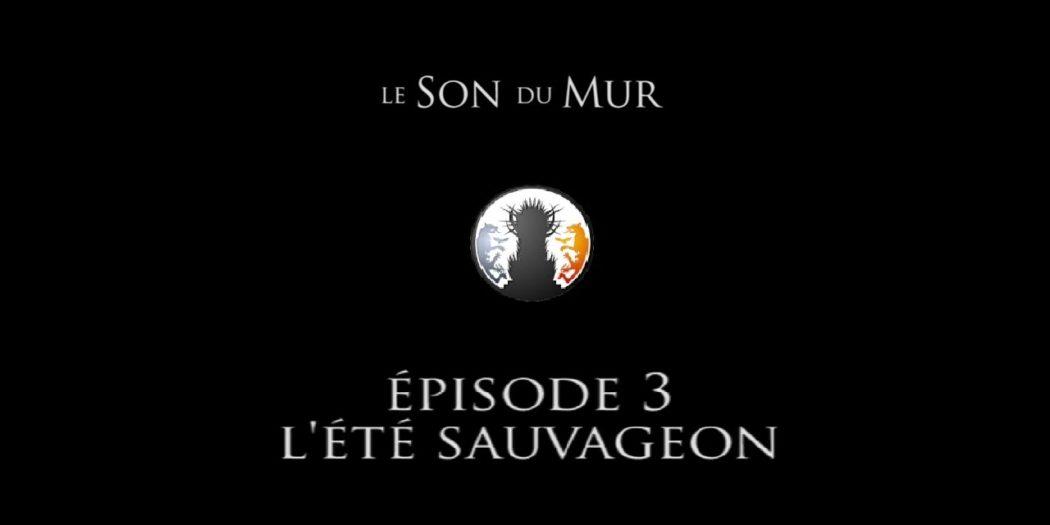 """3e podcast """"Le Son du Mur"""" par la Garde de Nuit : L'été sauvageon."""