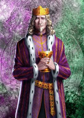 "Aenys  I<sup>er</sup>  Targaryen (crédits <a href=""http://www.amokanet.ru/"">Amok</a>)"
