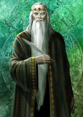"Jaehaerys I<sup>er</sup> Targaeryen, le vieux roi (crédits <a href=""http://www.amokanet.ru/"">Amok</a>, avec son aimable autorisation)."