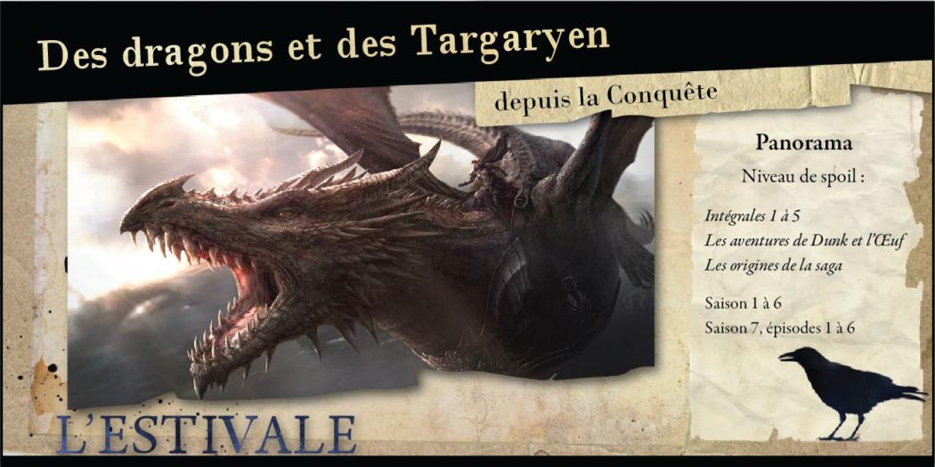 Des dragons et des Targaryen