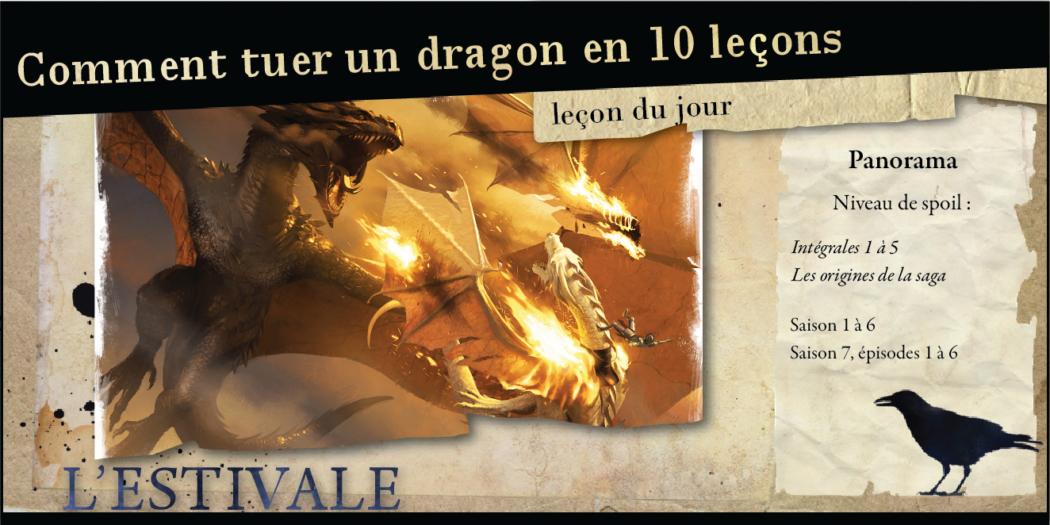 Leçon du jour : Comment tuer un dragon ?