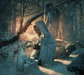 Alayne Stone (Sansa Stark) aux Eyrie (crédits : Michael Lomarck)