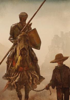 Ser Duncan le Grand et son écuyer, l'Œuf (crédits : Marc Simonetti)