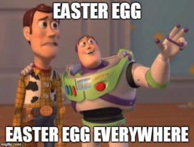 easter egg everywhere meme