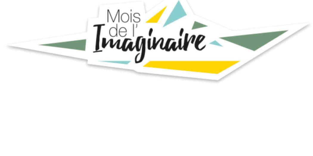 """Logo de l'initiative """"mois de l'imaginaire"""""""