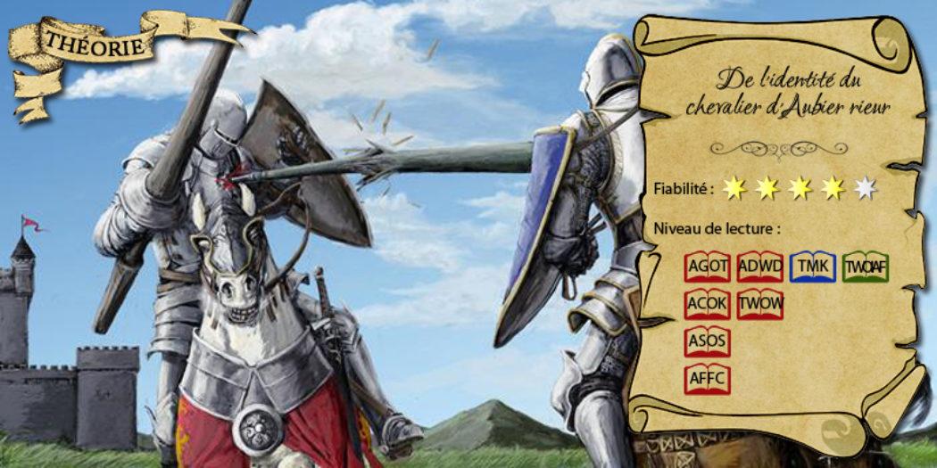 Joute lors d'un tournoi (illustration : ? ; montage : Evrach, La Garde de Nuit)