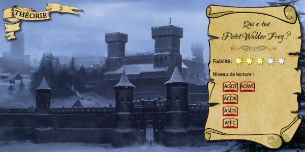Winterfell, siège de la maison Stark (illustration : Lino Drieghe ; montage : Evrach, La Garde de Nuit)