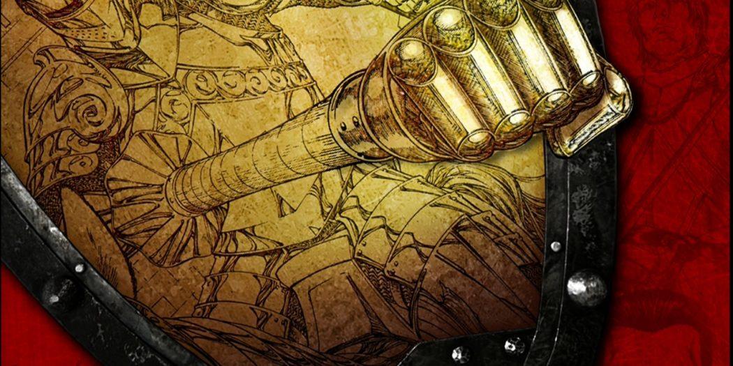Couverture du roman graphique The Mystery Knight (Crédits : Bantam)