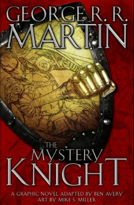 Couverture du roman graphique The Mystery Knight