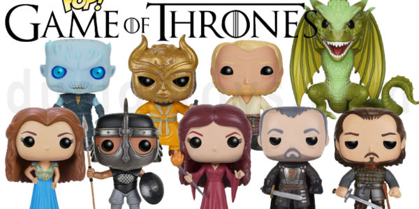Quelques Funko Pop Game of Thrones