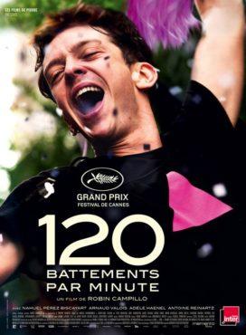 """Affiche du film """"120 battements par minute"""""""