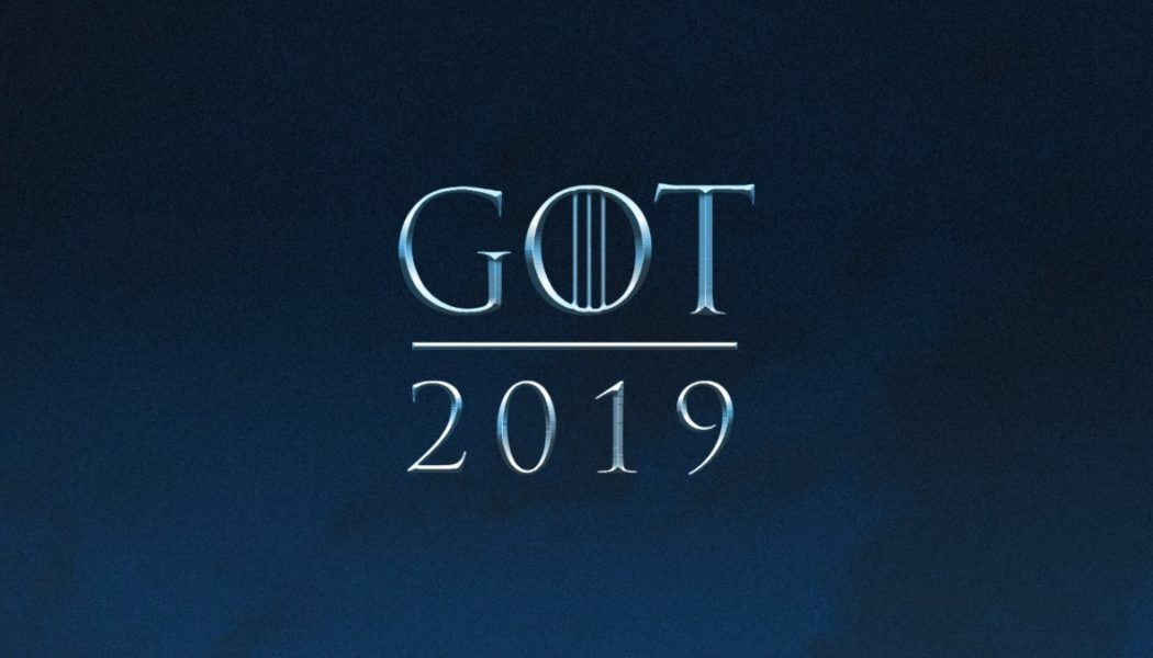 GOT ne reviendra qu'en 2019.