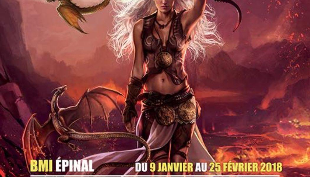 Affiche de l'exposition Magali Villeneuve