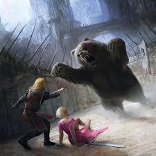 Brienne dans la fosse aux ours (crédits Marc Simonetti)