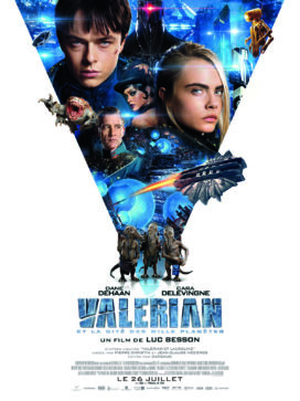"""Affiche du film """"Valérian et la Cité des mille planètes"""""""