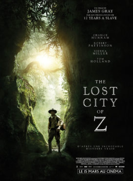 "Affiche du film ""The lost city of Z"""