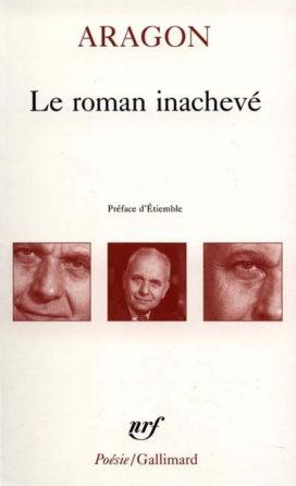 Couverture du roman inachevé (Edition Gallimard)