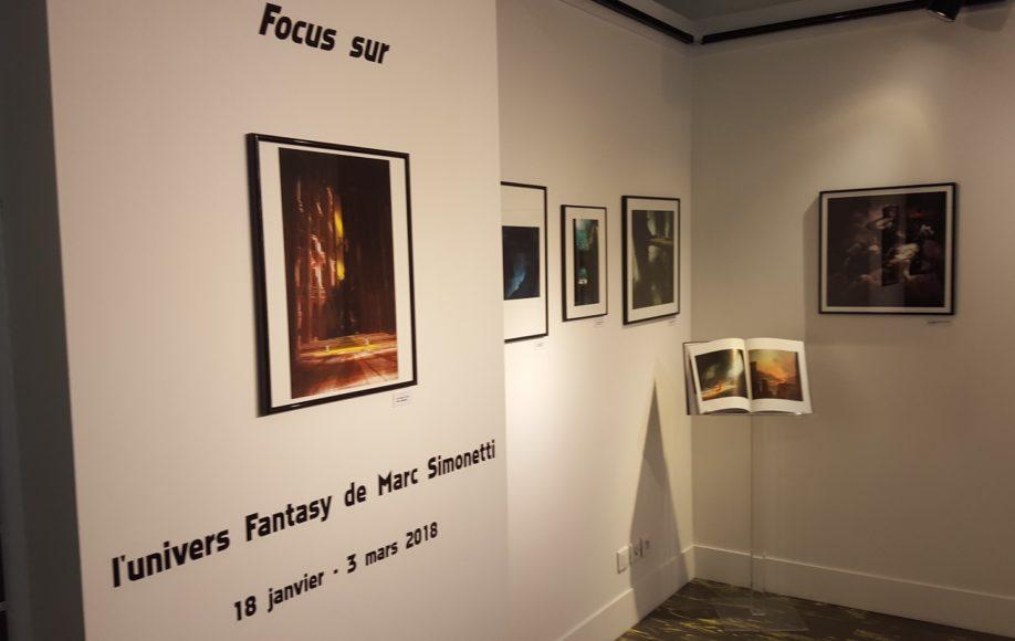 Exposition Marc Simonetti au centre Bonlieu à Annecy