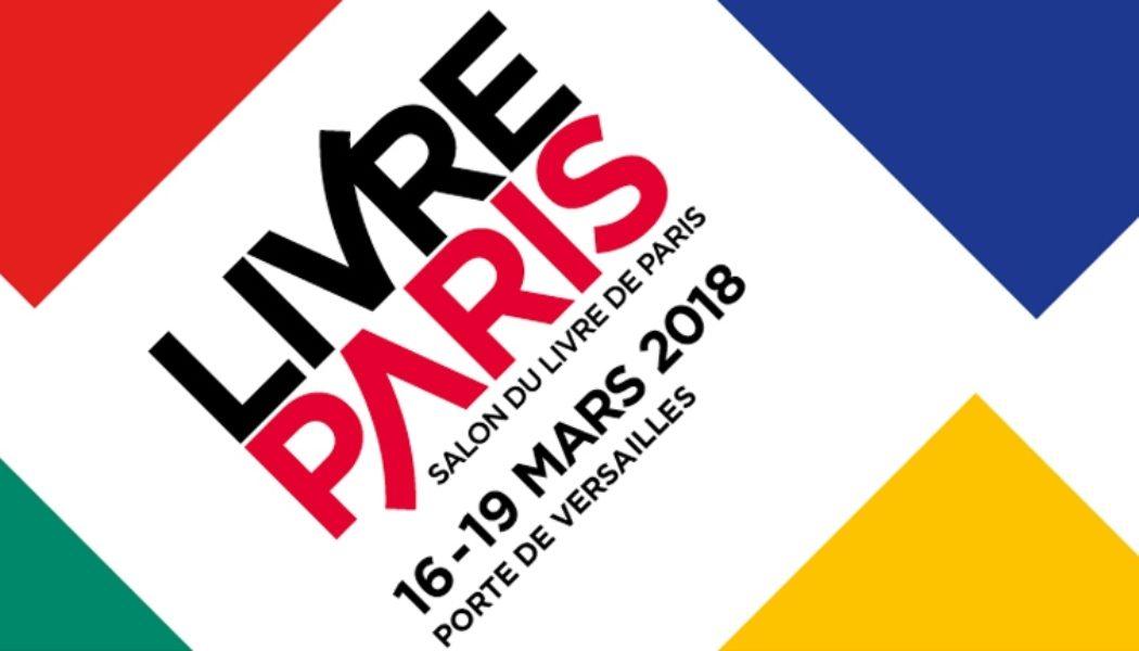 Logo officiel : Salon Livre Paris du 16 au 19 mars 2018